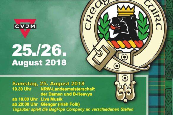 9. Highland Gathering: Friends of Clan MacLaren und CVJM bieten schottisches Lebensgefühl auf Lichtscheid