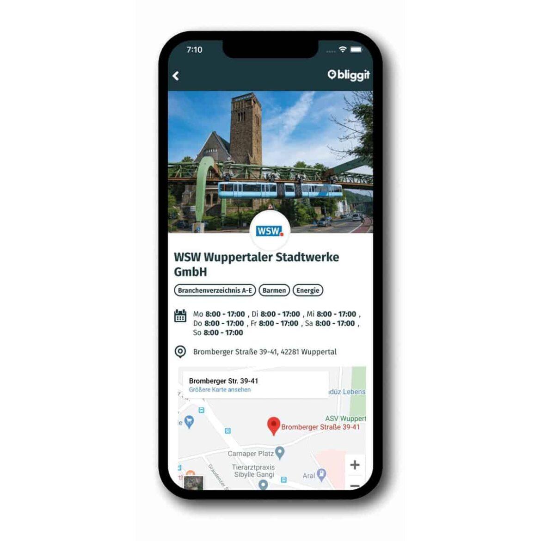"""Mit der neuen App Bliggit den """"Durchbligg"""" in Wuppertal behalten"""