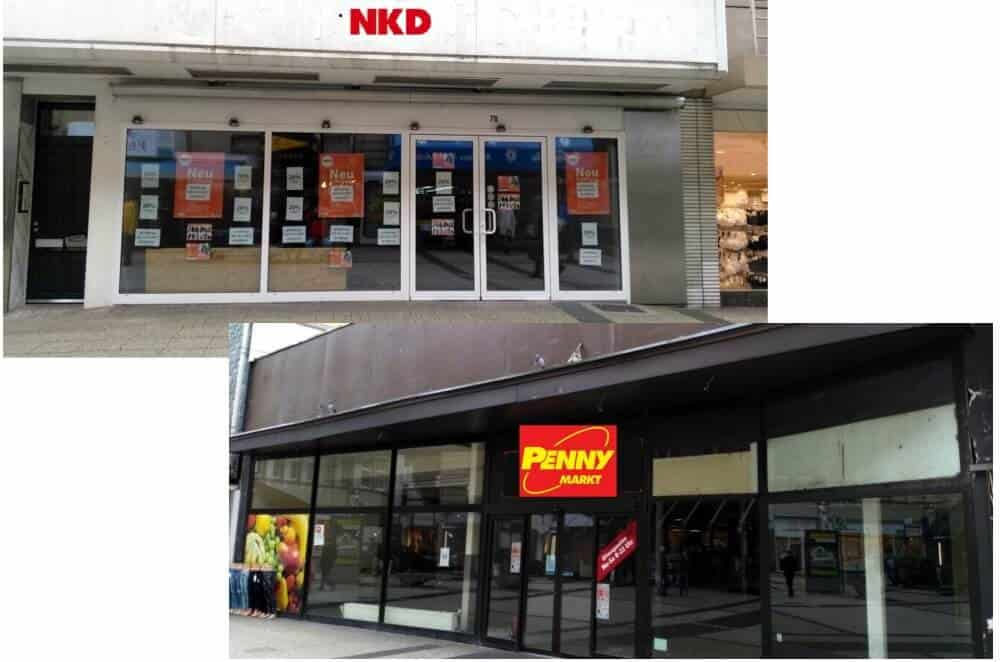 Penny und NKD eröffnen am Werth Wuppertal total: Aktuelle
