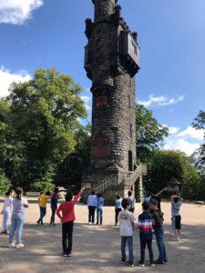 Ein gemeinsamer Ausflug zum Von-der-Heydt-Turm