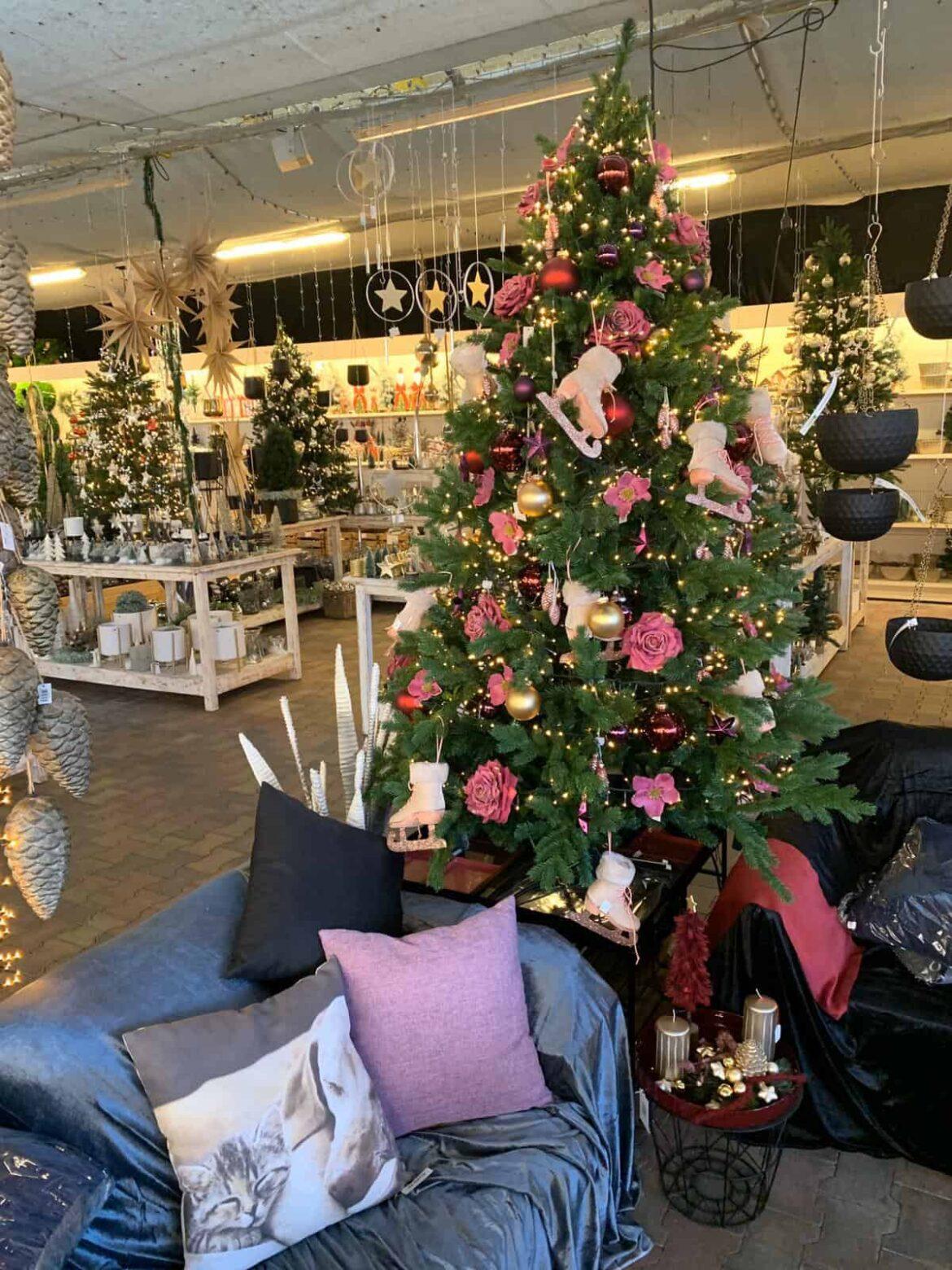 Weihnachts-Markt im Gartencenter Amoflor