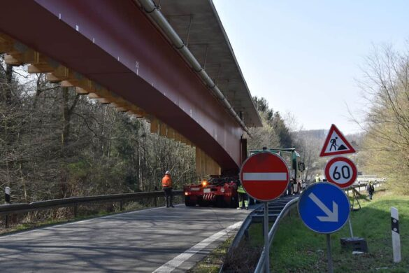 A1-Brücke trotz Panne im Zeitplan