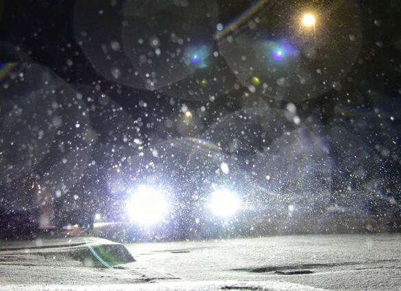 Heftiger Schneefall am Abend (updated)