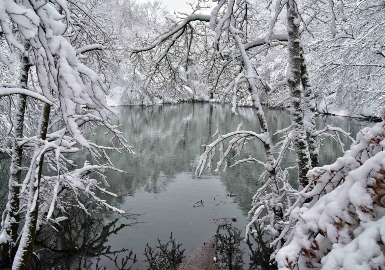 Wintereinbruch in Wuppertal